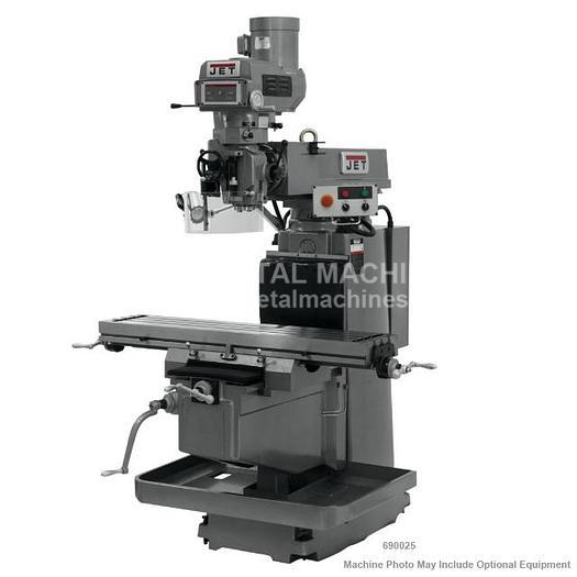 JET JTM-1254VS Variable Speed Vertical Mill Machine 230/460V 3Ph 690025