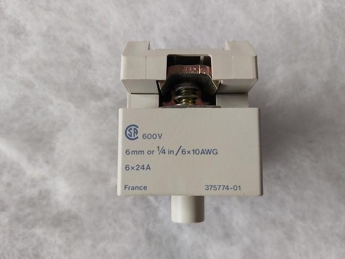 3 Stk. Schraubklemmenverbinder, AK2-BA162U, Telemechanique,  neu