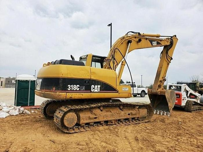 Used CAT 318 with Aux Hyd