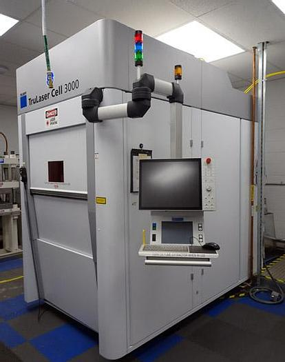 Used 3125, Trumpf, Cell 3000 / TruMicro 7240, Ablation process, 2016