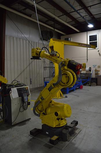 FANUC R-2000iB/165F WITH R-30iA CONTROLS, TEACH PENDANT & CABLES