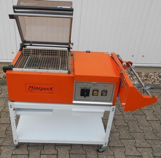 Used O 14858 D - L-Sealer and Shrink Unit MINIPACK FM 75