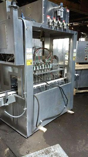Used PackWest LSN-8  1/2 Gallon Piston Filler SS