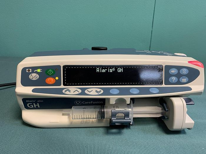 Gebraucht CareFusion Alaris plus GH Spritzenpumpe