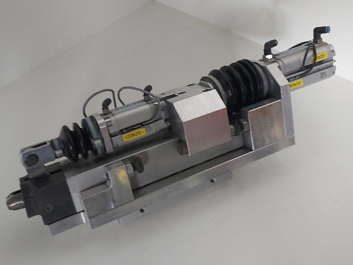 Gebraucht Zustellzylinder und Klemmung, Hub 60mm K1, Festo gebraucht-Top