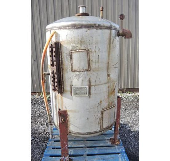 USED 170 GALLON TANK, STAINLESS STEEL