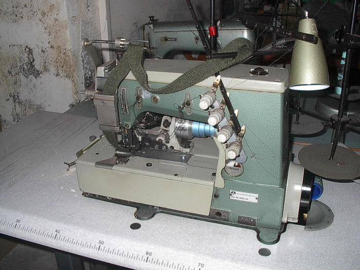 3-Nadel-Doppelkettenstich RIMOLDI  Kl. 263-46-3MD-05