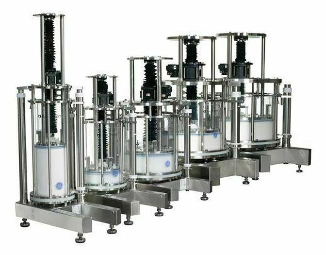 NEW Pharmaceutical GE Healthcare Column Bed Support We Have Many w/ Certificates