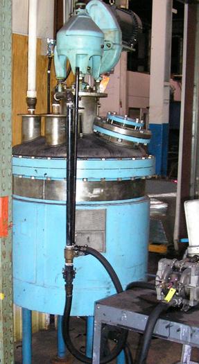 100 Gal Cap. OG Kelley & Co Stainless Steel Reactor