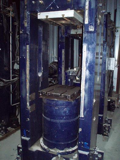 Used 200 Ton Rutil Up-Acting Hydraulic Press; Housing Type; Mfg. 2005; Low Profile; P.O.R.