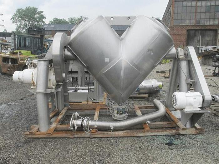 Used 40 CU. FT. P-K TWIN SHELL BLENDER -S/S