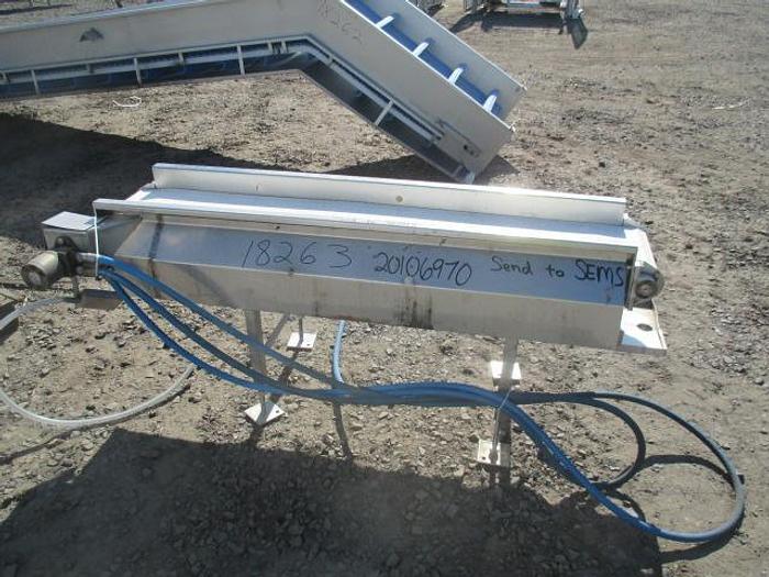 "Used McKinney Fab Conveyor; 12""Wx6'L"