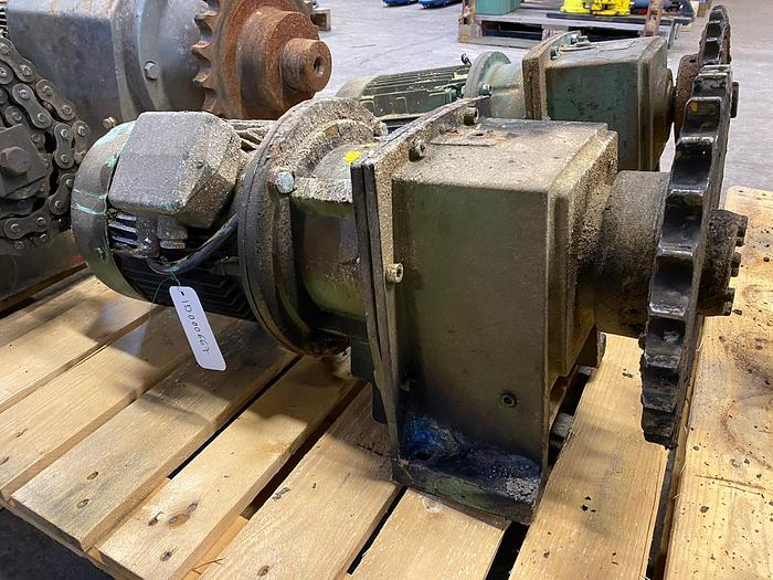 Used Sweden Electric motor with reducer