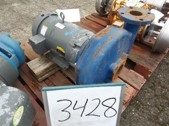 Goulds 3'' x 2 1/2'' Centrifugal Pump #3428