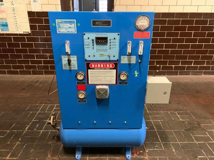 Used Thermco Gas Mixer 0-20% Hydrogen In Nitrogen 8300HN20AN160F