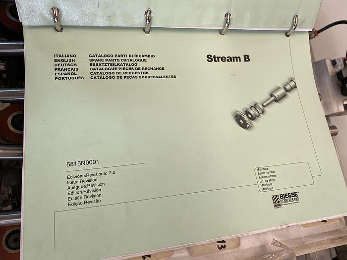 2008 Biesse Stream B1 9.0 Softorming