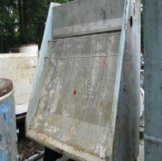 "Used BAUER 72"" (1.82M) MDL 554F-1-72 HYDRASIEVE FRP BODY S/S SCREEN PLATE .030"" (.76MM) SLOTS"