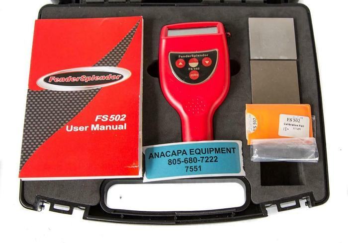 Used Fender Splendor FS502 Coating Thickness Gauge USED (7551) W