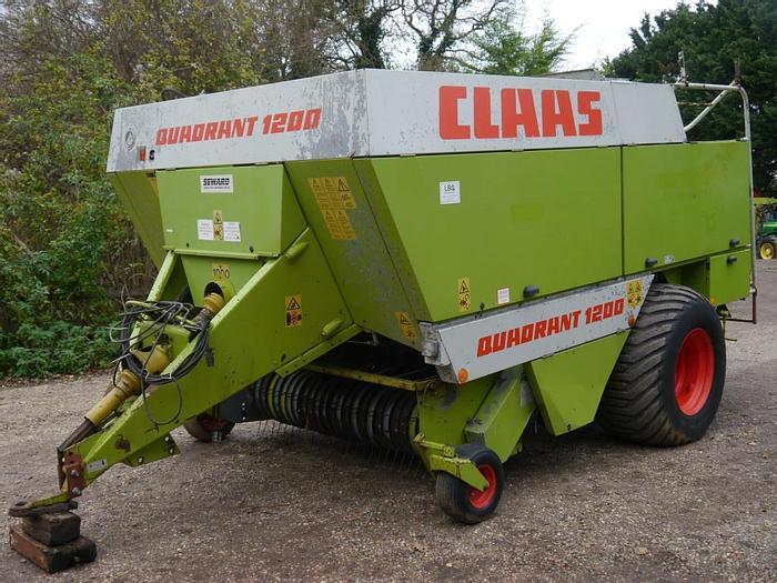Used Claas Quadrant 1200 Baler