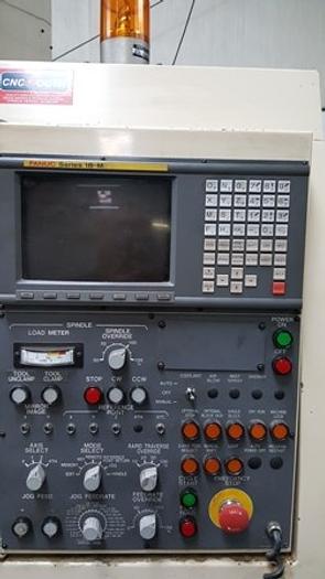 "32""X, 17""Y, 17.75""Z, OKUMA & HOWA Millac 438V VMC, Fanuc 18"