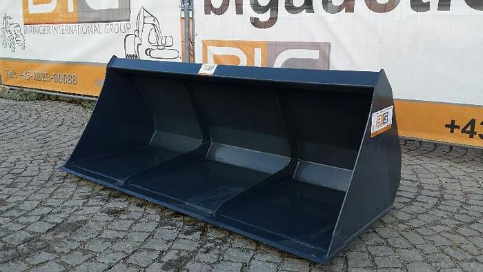 Volumenschaufel 240 cm passend zu JCB Q Fit Aufnahme