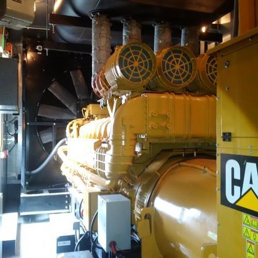 Used 3 MW 2012 Used Caterpillar C175-16 Diesel Generator Set