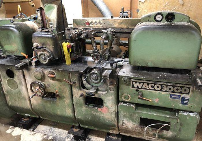Used Complete Moulder line with Waco 3000