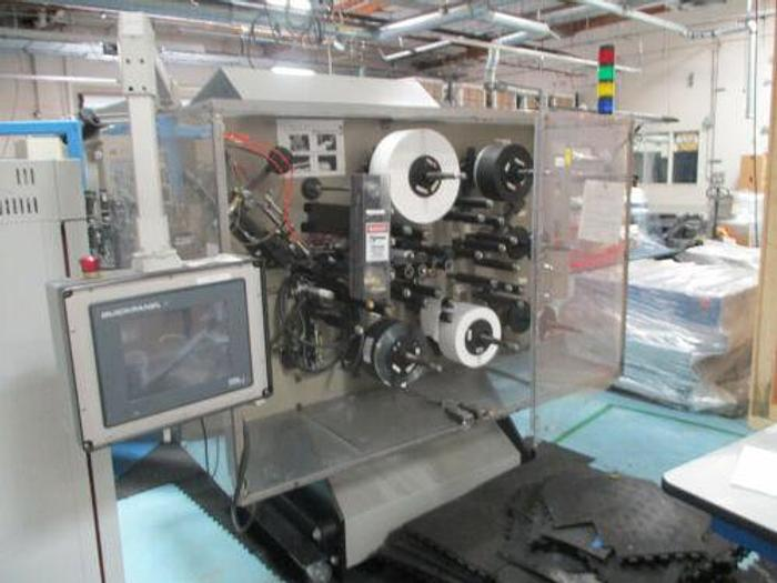 LATE MODEL CAPACITOR WINDING MACHINE WITH QUICKPANEL CONTROL