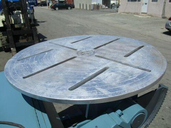 2500 LB MOTORIZED WELDING POSITIONER WITH TILT AND SPIN