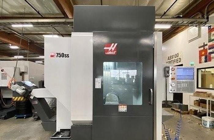 Used 2016 Haas UMC-750SS