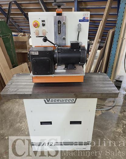 Used 2018 Vorwood A12 Miter Lock Shaper