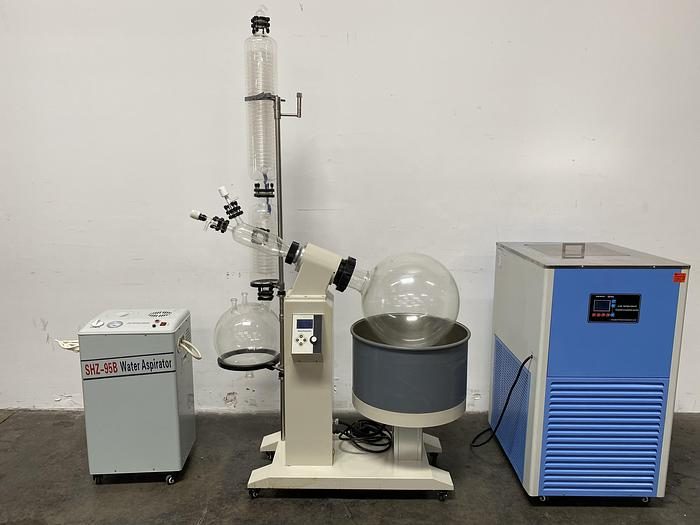 Used 50 Liter  Rotary Evaporator w/ DLSB Chiller, Aspirator & Glassware