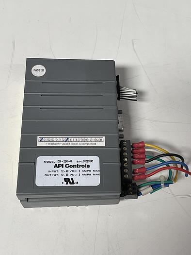 Used Api Controls DM-224I-0 Microstepper 12-48 VDC