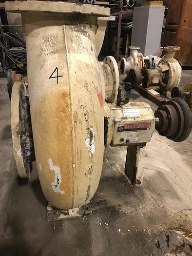 Used AHLSTROM APT 43-12 CENTRIFUGAL PUMP S/S  4000 GPM