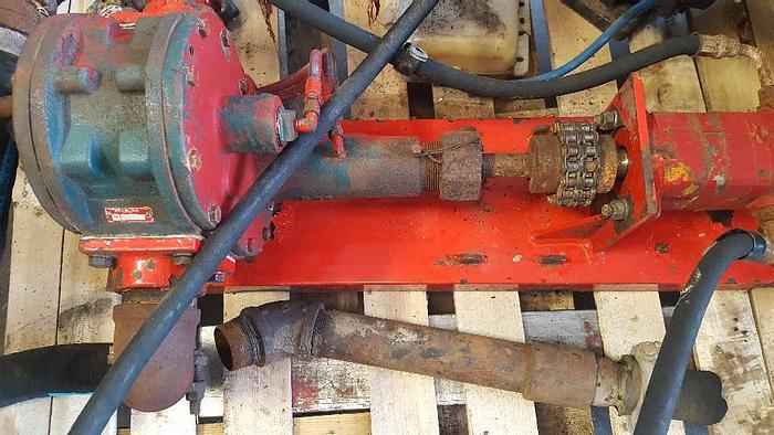 USED BOWIE ROTARY GEAR PUMP 300 SERIES