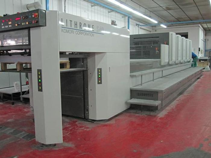2008 Komori Lithrone LS540+CX(H)