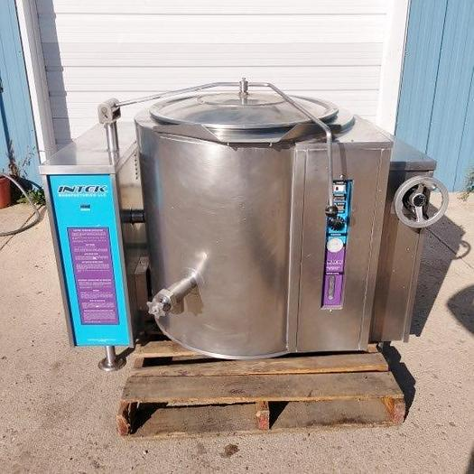 Used Intek 40 Gallon Steam Jacketed Kettle