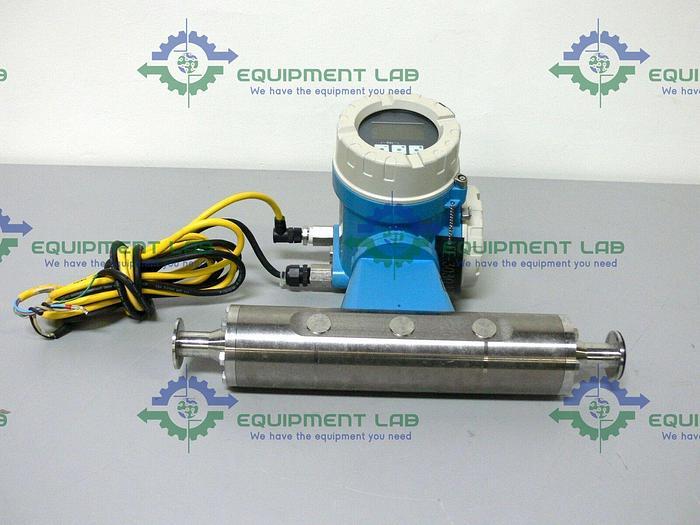 "Used Endress Hauser Promass M 83 83M25-AATFAAAAL2AK 1"" Triclamp Flowmeter"