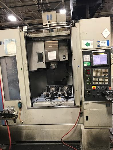 "HARDINGE XR760 VMC PRODUCTION CENTER 30""X24""X24"""