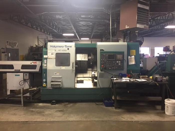 Used 2001 NAKAMURA-TOME  WT-250MM