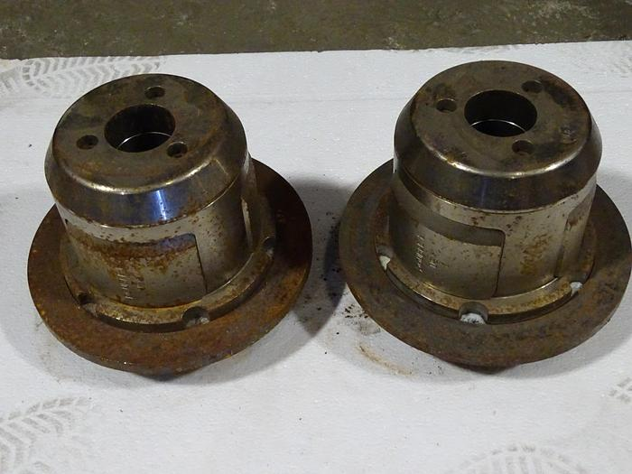 "Used 6"" (152.4MM) PAIR OF DOUBLE E UNWIND / REWIND CHUCKS"