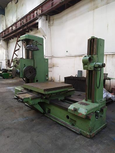 Used Horizontal Boring Mill TOS H100A 1970
