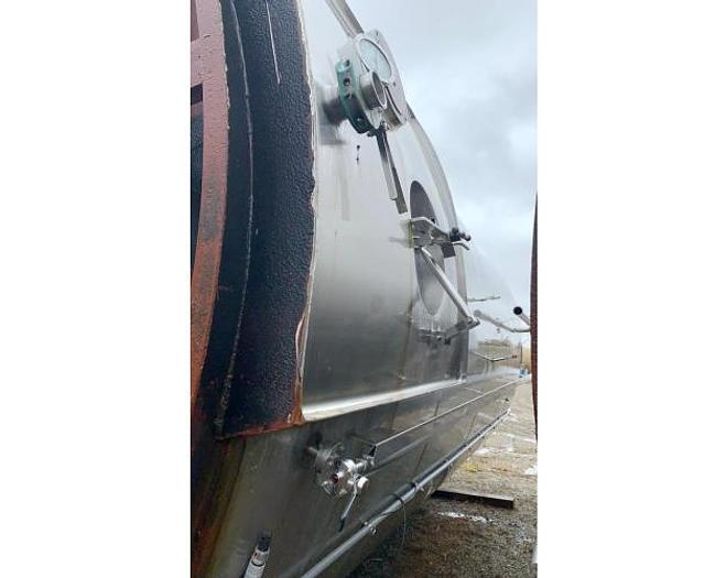 USED 15,000 GALLON STAINLESS STEEL TANK WITH EPOXY LINING