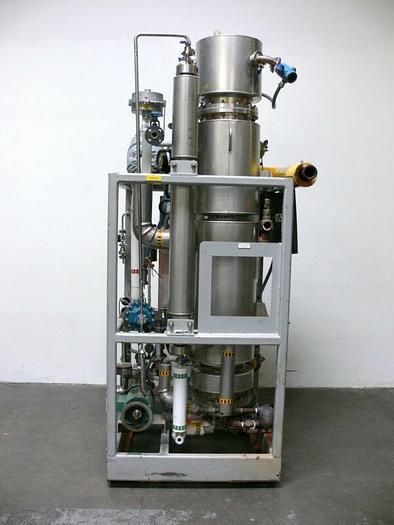 Used Meco CS1500 Pure Steam Generator 1000 lbs/hr Capacity  125 psi @ 350F