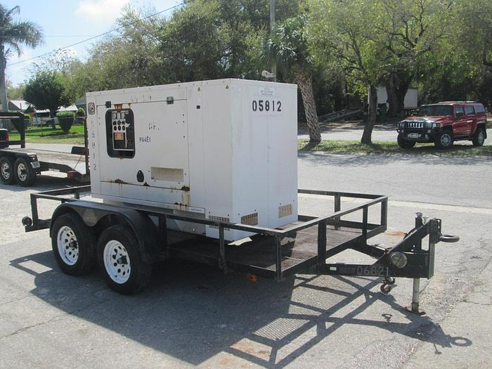 Used 2004 FG Wilson 40KW Generator with Trailer