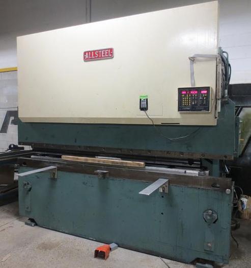120 TON X 10', ALLSTEEL 120-10, CNC PRESS BRAKE