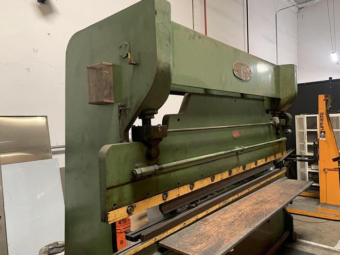 Used 90 Ton  x 10ft Chicago 8L10 Hydra-Mechanical Press Brake