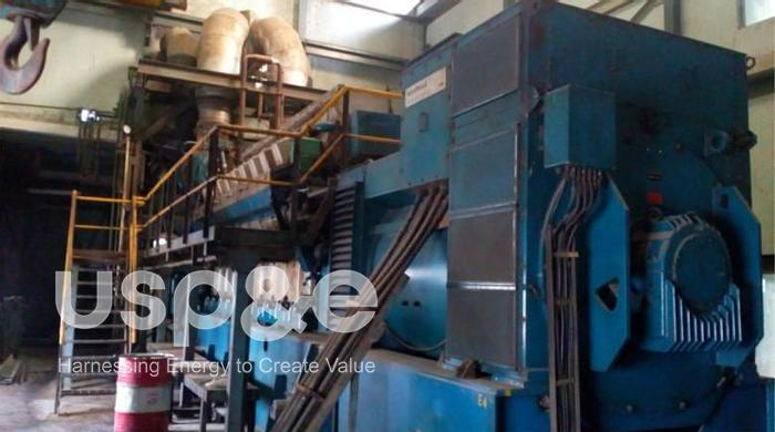Used 6 MW 1998 Used Wartsila 18V32LN HFO Natural Gas Generator Sets