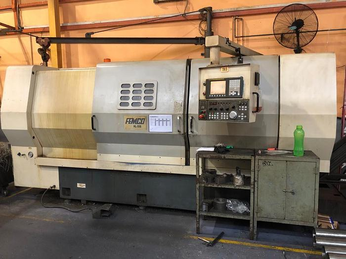 Used 2008 FEMCO HL55-S CNC TURNING MACHINE