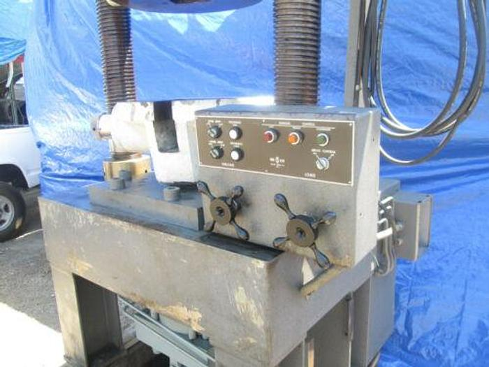 TINIUS OLSEN 200,000 LB. TENSILE / COMPRESSION TESTER WITH MICROMETER ADJUSTMENT